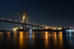 Karnjanarpisek most Zdjęcie Royalty Free