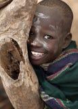 Karo girl in South Omo, Ethiopia Royalty Free Stock Photography