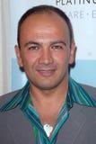 Karo Vartanian bij het Gilde van het Platina Internationaal met Kleren van Onze AchterPartij. De Aandrijving van de Rodeo van het  Stock Fotografie