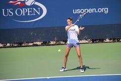 Karolína Plíšková. Tennis player Karolína Plíšková at the 2017 US Open tennis grand slam Stock Photos