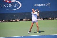 Karolína Plíšková. Tennis player Karolína Plíšková at the 2017 US Open tennis grand slam Stock Image