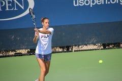 Karolína Plíšková. Tennis player Karolína Plíšková at the 2017 US Open tennis grand slam Royalty Free Stock Images