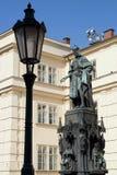 karol kwarto statua Zdjęcia Royalty Free