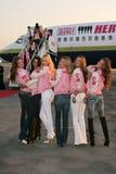 Karolina Kurkova, Selita Ebanks, Victoria's Secret, Adriana Lima, Alejandra Ambrosio, Bob Hope, Gisele, Gisele Bundchen, Izabel Go Imagenes de archivo