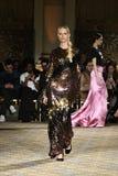 Karolina Kurkova walks the runway for the Christian Siriano collection Stock Photo