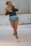 Karolina Mateju - Abbildung Eislauf Lizenzfreie Stockfotografie