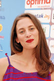 Karolina Pavone al Giffoni Ekranowy festiwal 2015 Obrazy Stock