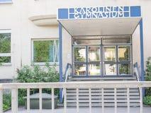 Karolinen Gymnasium Rosenheim Stock Photo