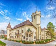 Karolyi slott i Carei royaltyfri fotografi