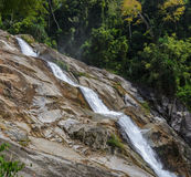 Karome waterfall, Thailand Royalty Free Stock Photo