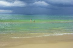Karon beach area in Phuket, Thailand Stock Photo