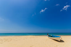Karon beach in phuket island Royalty Free Stock Image