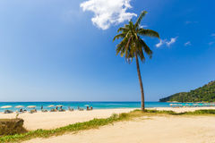 Karon beach in phuket island Stock Images