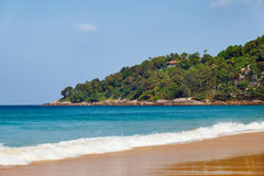 Karon beach on Phuket island Stock Photography