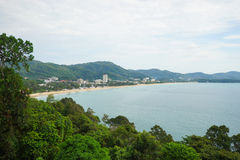 Karon beach of Phuket island Stock Image