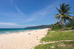 Karon beach Stock Photo