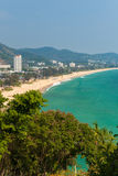 The Karon Beach, Phuket, Thailand Stock Images