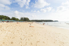Karon beach Stock Photography