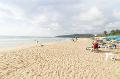Karon beach Royalty Free Stock Images
