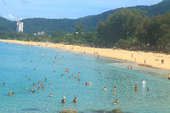 Karon beach phuket thailand Stock Photos