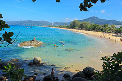 Karon beach phuket thailand Royalty Free Stock Images