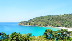 Karon beach, Phuket, Thailand Royalty Free Stock Photos