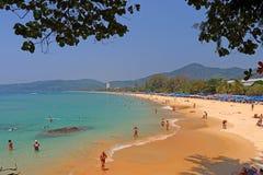 Karon beack phuket thailand Stock Photo