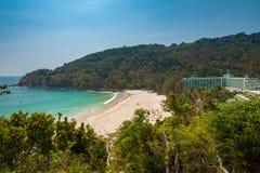 Karon Noi plaża, Phuket, Tajlandia Obrazy Stock