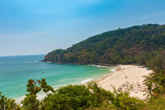 Karon Noi plaża, Phuket, Tajlandia Fotografia Stock