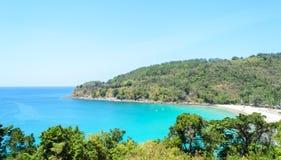 karon phuket Таиланд пляжа Стоковые Фотографии RF