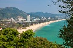 Karon plaża, Phuket, Tajlandia Fotografia Stock