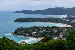Karon punkt widzenia Phuket Tajlandia Fotografia Royalty Free