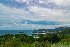 Karon punkt widzenia Phuket Tajlandia Zdjęcia Royalty Free