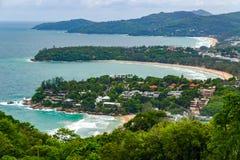 Karon punkt widzenia Phuket Tajlandia Zdjęcia Stock
