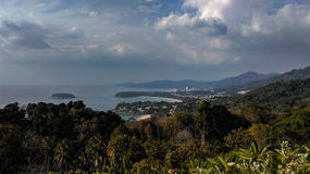 Karon punkt widzenia w Phuket Obraz Stock