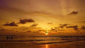 Karon-Sonnenuntergang stock video
