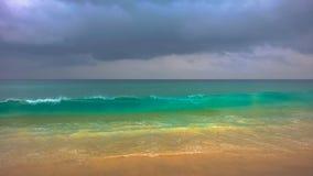 Karon strand mycket av färger Royaltyfri Fotografi