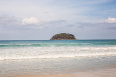 Karon-Strand in Phuket-Insel Thailand Lizenzfreie Stockbilder