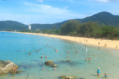 Karon-Strand Phuket Thailand Lizenzfreies Stockbild