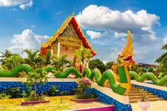 Karon tempel på Phuket arkivbilder