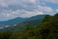 Karon Viewpoint on island of Phuket Royalty Free Stock Photography