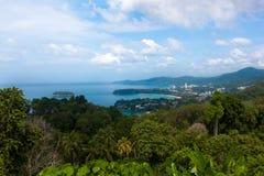 Karon Viewpoint on island of Phuket, Thailand Stock Photos