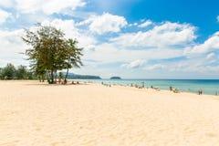 Karonstrand in Phuket-eiland Thailand Royalty-vrije Stock Fotografie