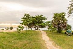 Karonstrand in Phuket-eiland Thailand Royalty-vrije Stock Foto