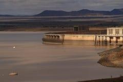 Karoo central Afrique du Sud de barrage de Gariep photos stock