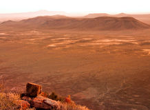 Karoo desert sunset Stock Images