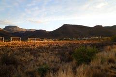 Karoo park narodowy, Beaufort Zachodni Obrazy Royalty Free