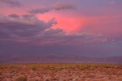 Karoo sunset Royalty Free Stock Images