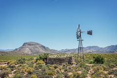 Karoo wind pump Royalty Free Stock Photography