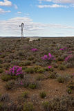 Karoo windpump Stock Images